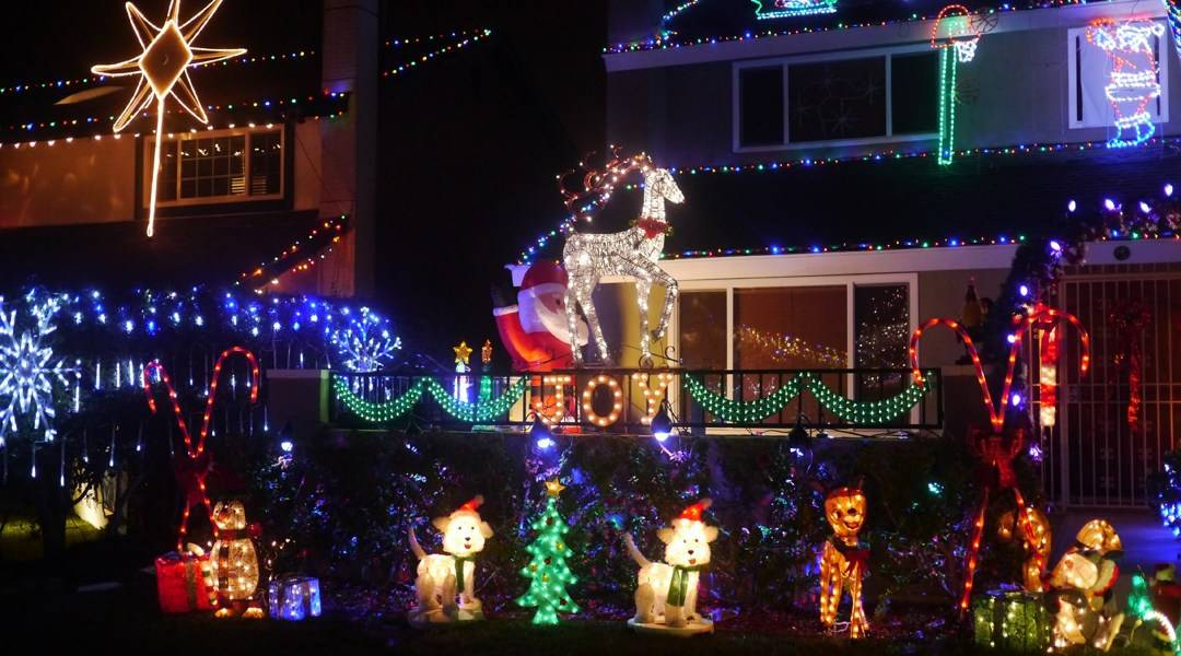 Best Holiday Lights San Diego