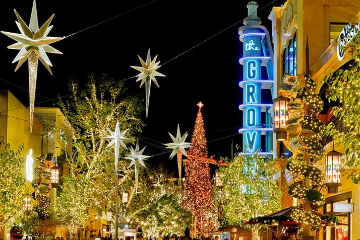 Best Christmas Lights LA