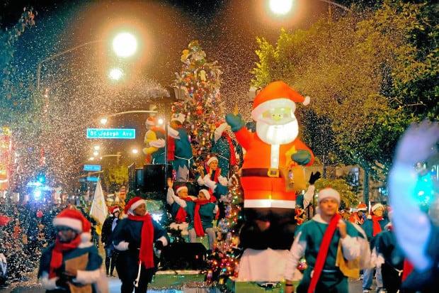 Best Christmas Lights in Long Beach