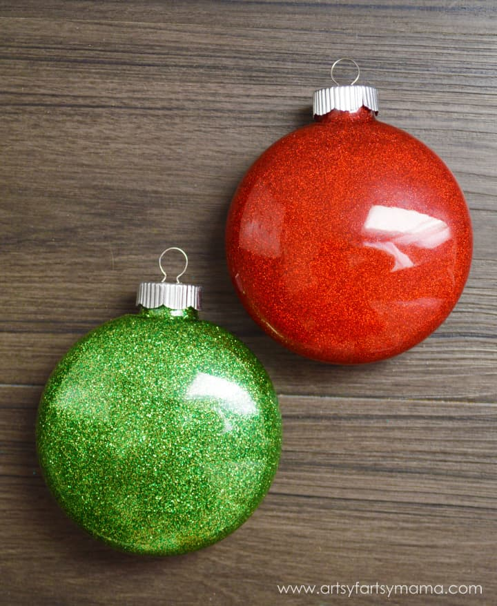 easy kids Christmas ornament craft
