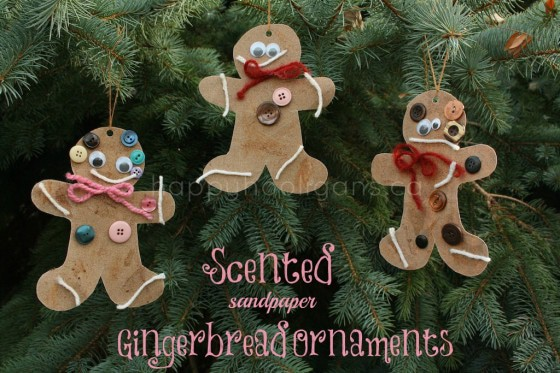 Adorable gingerbread ornament craft for kids