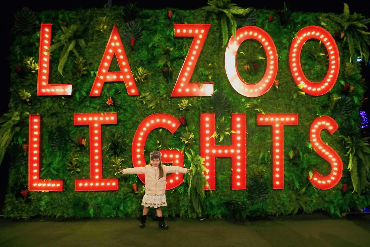 Discount tickets to LA Zoo Lights