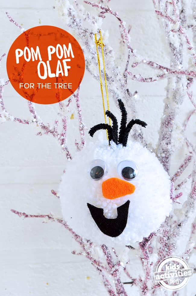 Easy kids craft ornament