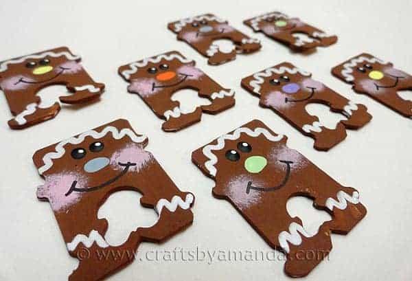 simple kids gingerbread craft