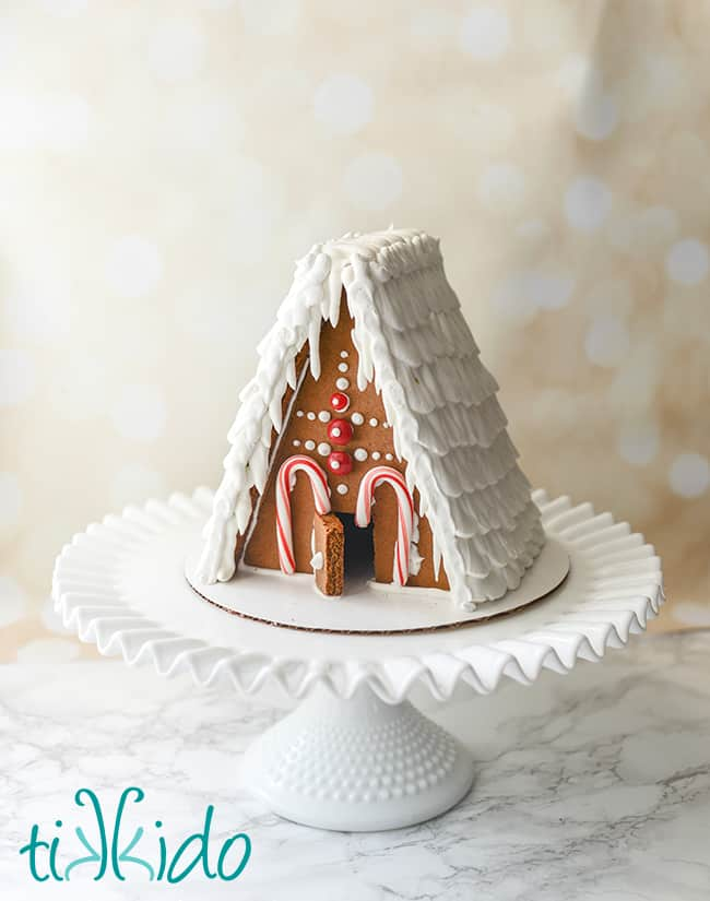 how to make a children's gingerbread house