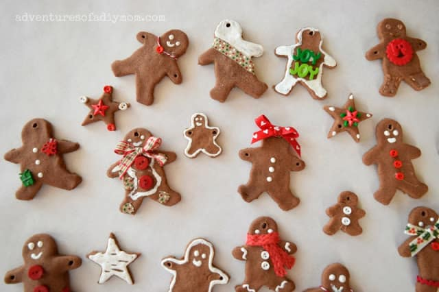 easy gingerbread kid craft