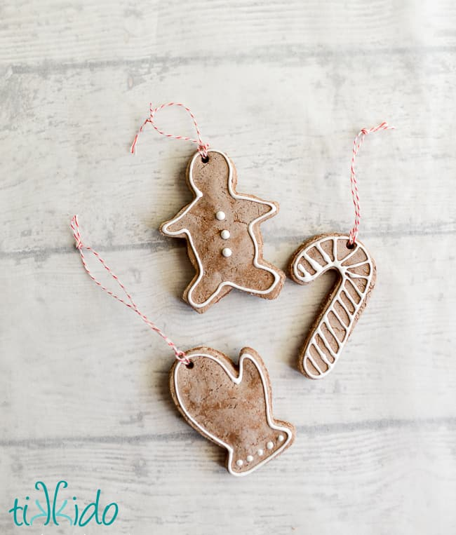 gingerbread ornament craft for kids