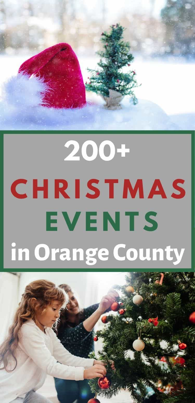 Celebrate the holiday season by attending any one of these 200 Christmas Events in Orange County, California. From holiday boat parades to the best Christmas light displays to children's holiday activities, SoCal Field Trips has got you covered!