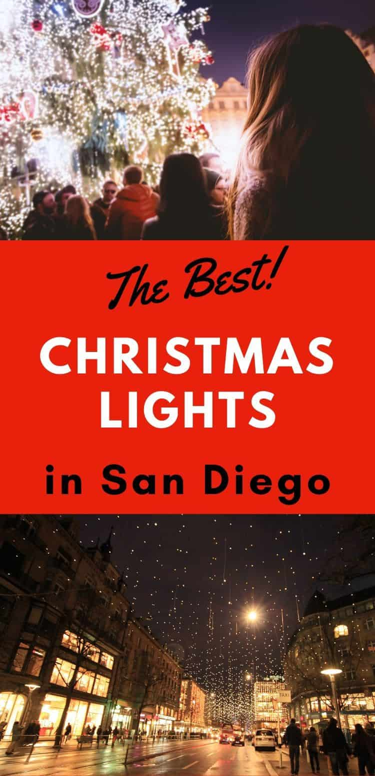 Check out this list of The Best Christmas Lights in San Diego! There are over forty holiday light displays throughout San Diego County for all ages to enjoy..