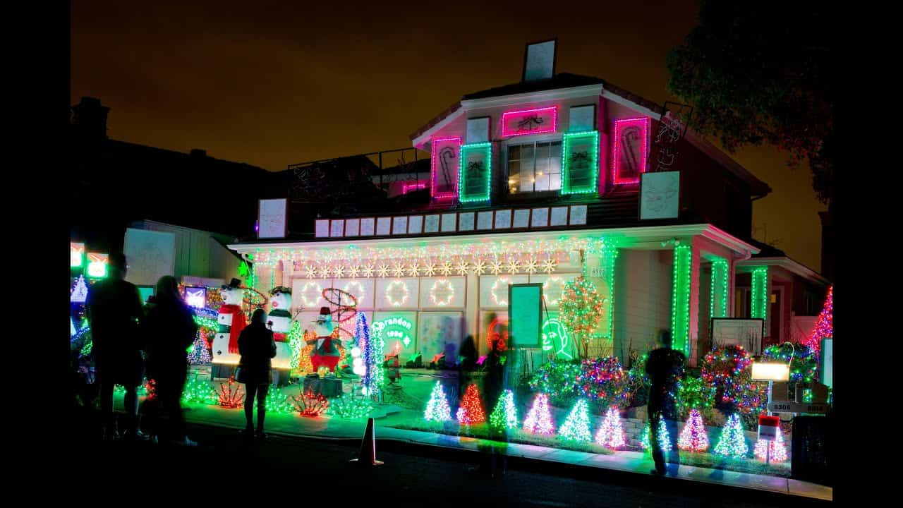 Best Holiday Light Displays in San Diego