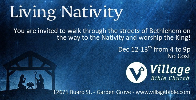 Live Nativity Orange County