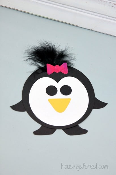 Penguin Craft For Preschoolers