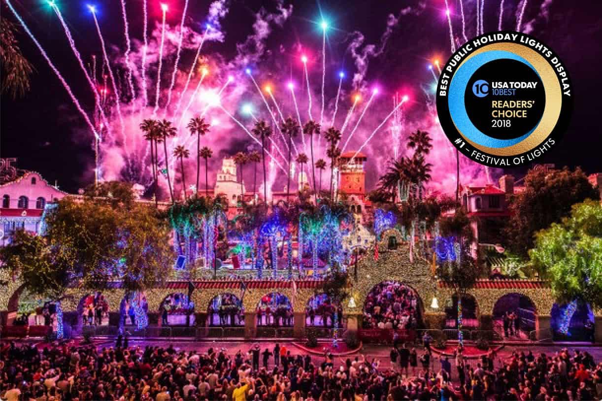 Annual Festival of Lights in Riverside