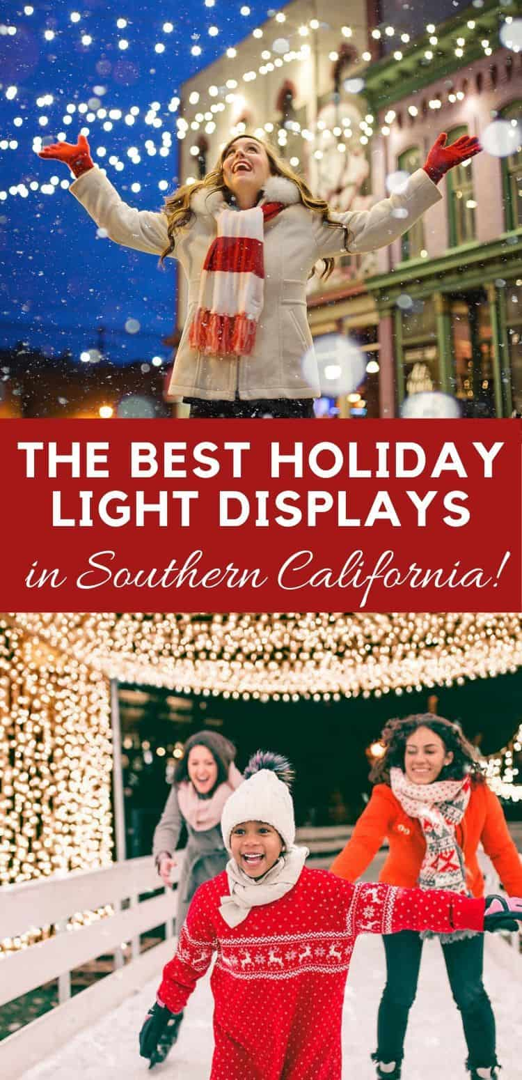 Simplify your search for holiday lights in Southern California with these must-see light displays at historic landmarks, public gardens and community gathering spaces. We've found many displays that are aglow with festive twinkling lights that will make everyone's eyes sparkle!