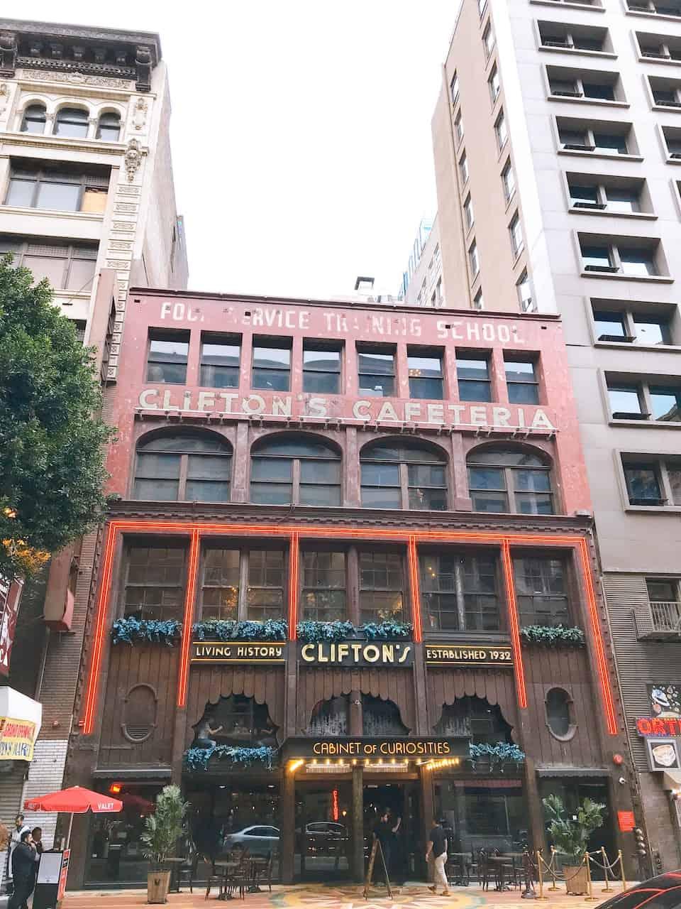 Clifton's Cafeteria Downtown LA