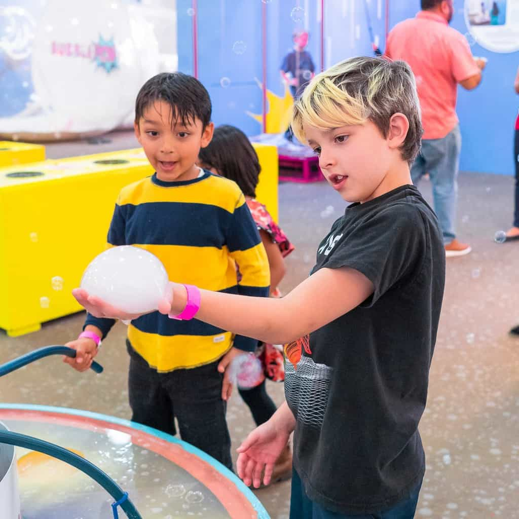 Homeschool Day at BubblePop in Tustin