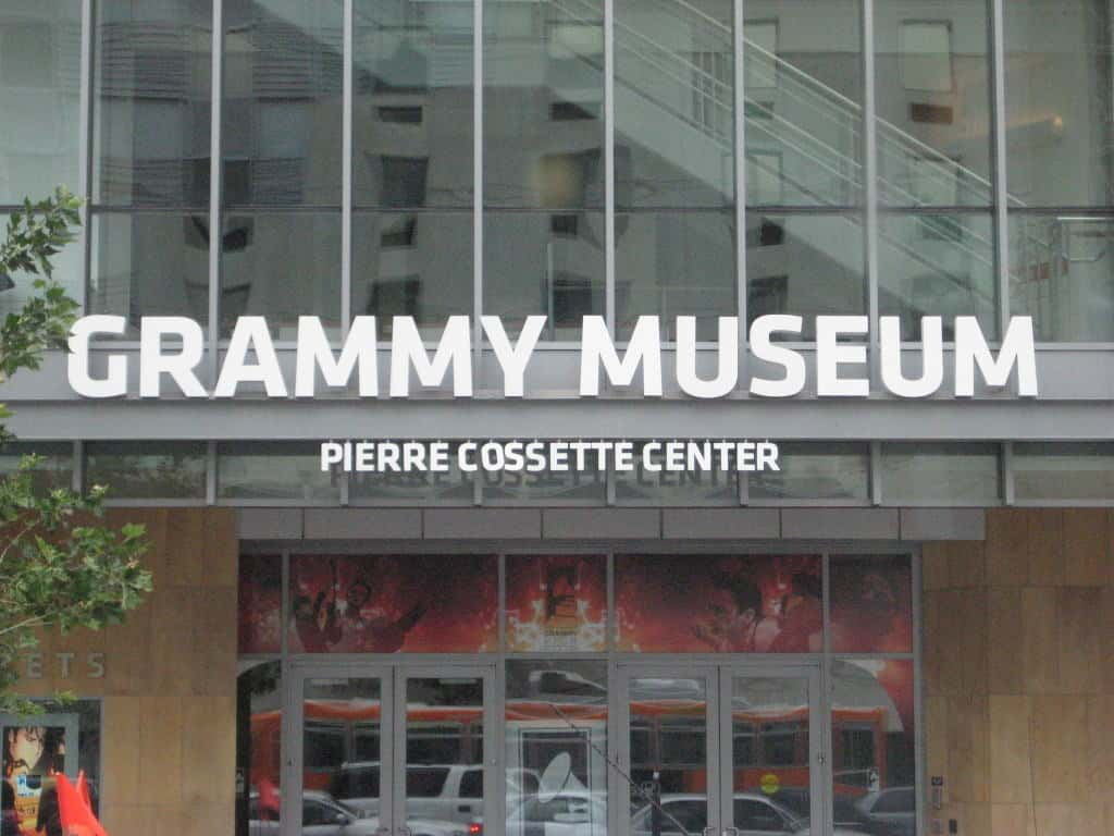 The Grammy Museum in Downtown LA