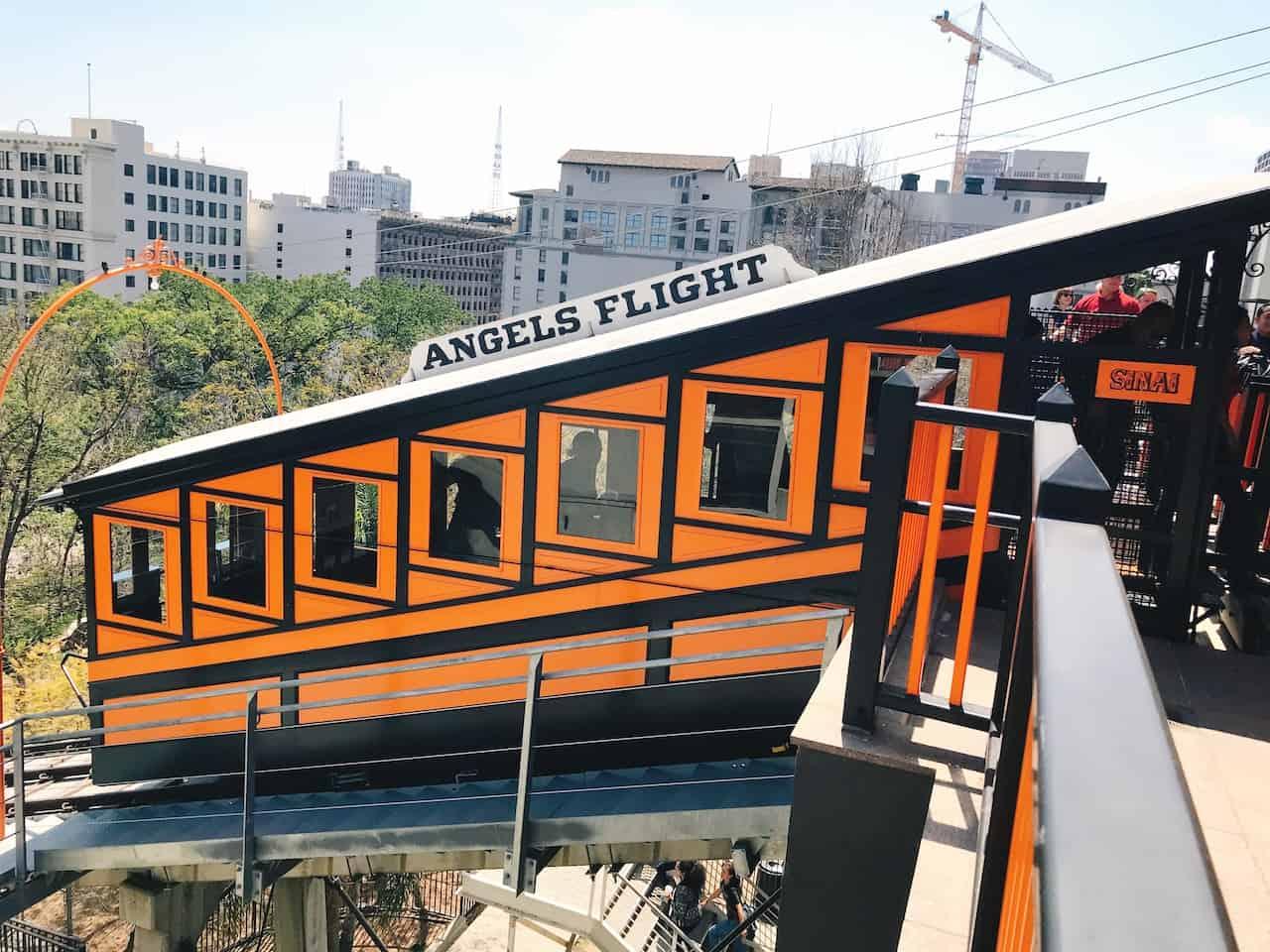 Angel's Flight in Downtown LA
