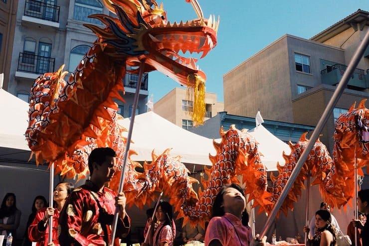 Lunar New Year Celebration Near San Diego