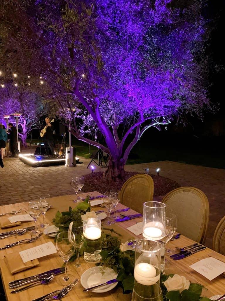 Dinner at Renaissance Indian Wells