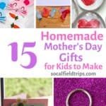 """Nothing says """"I love you!"""" more than a homemade Mother's Day Card. It makes her feel appreciated to know that you added an extra personal touch just for her. So if you're ready to get crafty with homemade Mother's Day gifts, check out this list of 15 Homemade Mother's Day Gifts For Kids To Make!"""