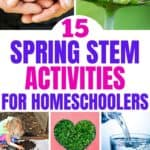 These 15 Spring STEM Activities For Kids will keep little scientists engaged, learning and well-prepared for the 21st century!