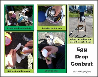 Classic Egg Drop Science Experiment