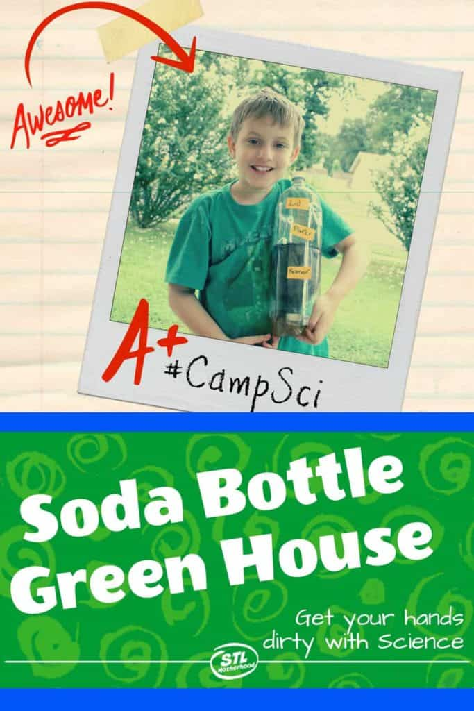 Soda Bottle Green House Science Experiment