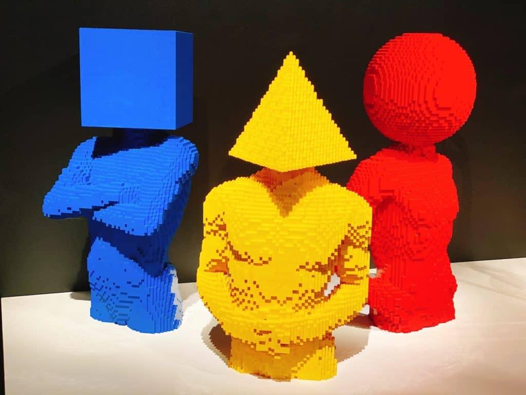 Lego Exhibit California Science Center