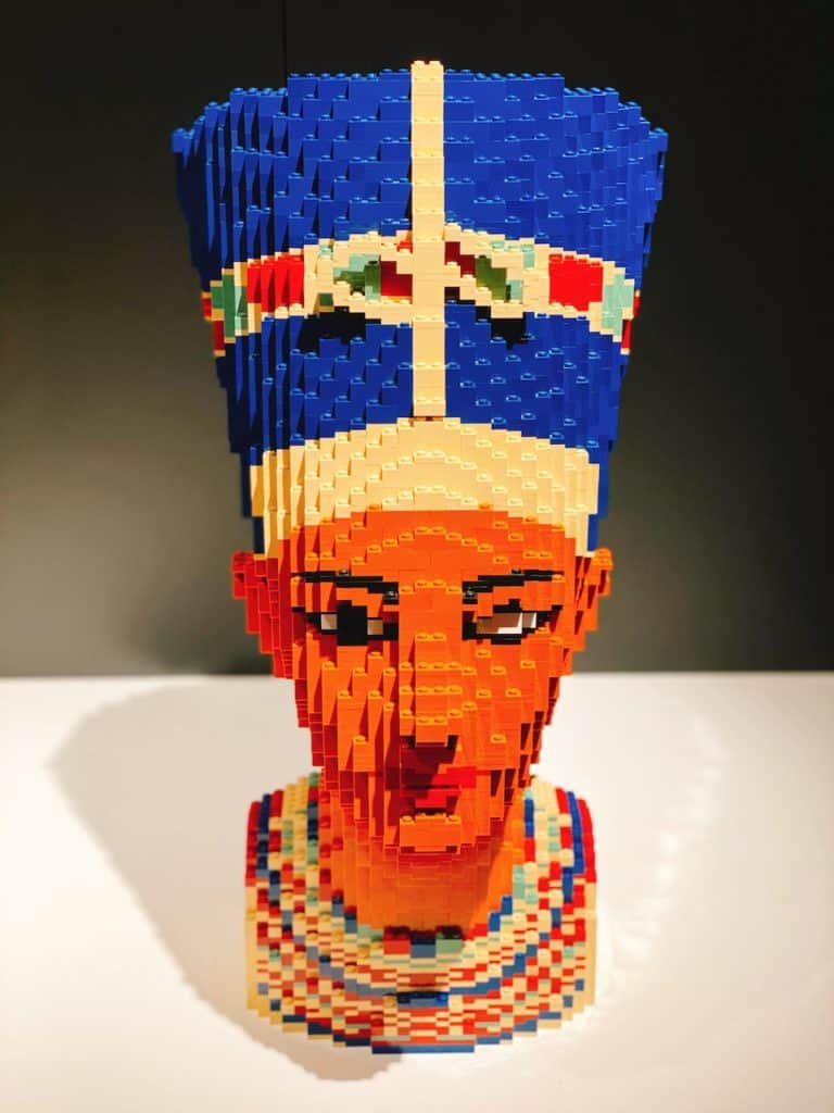 Tickets to Art of the Brick at the California Science Center