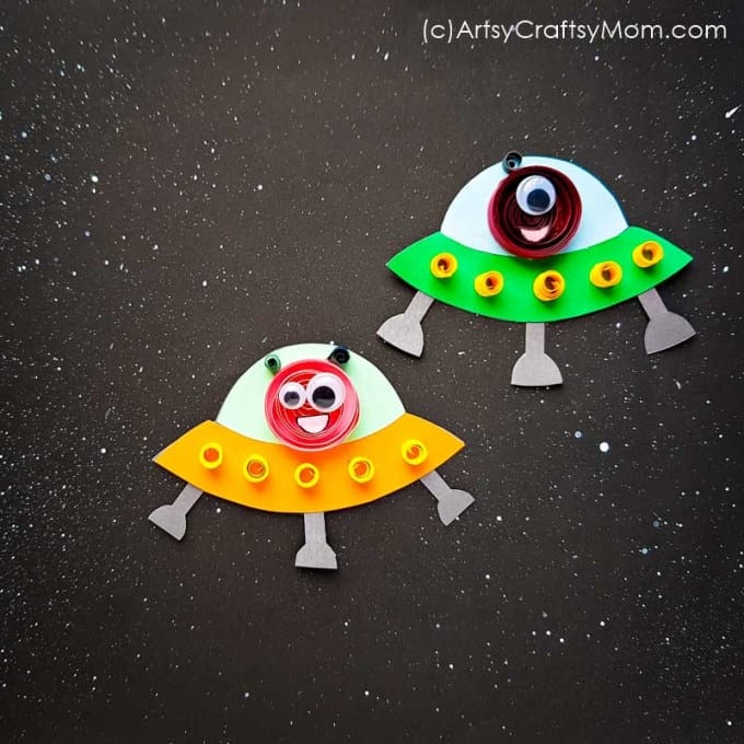 Alien Space Ship Craft For Kids