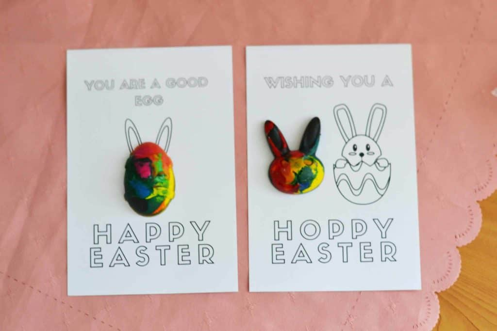 Easter Crayons Craft