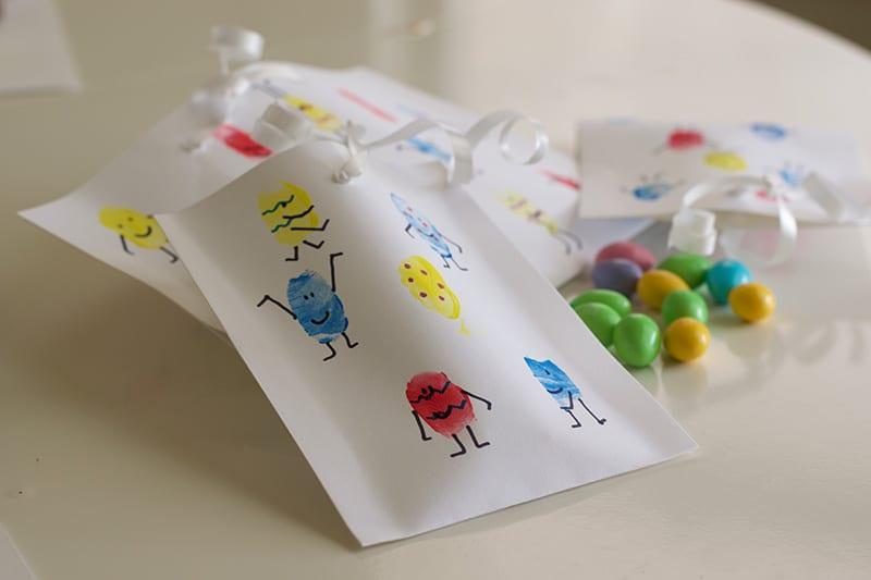 Fingerprints Easter Craft For Toddlers