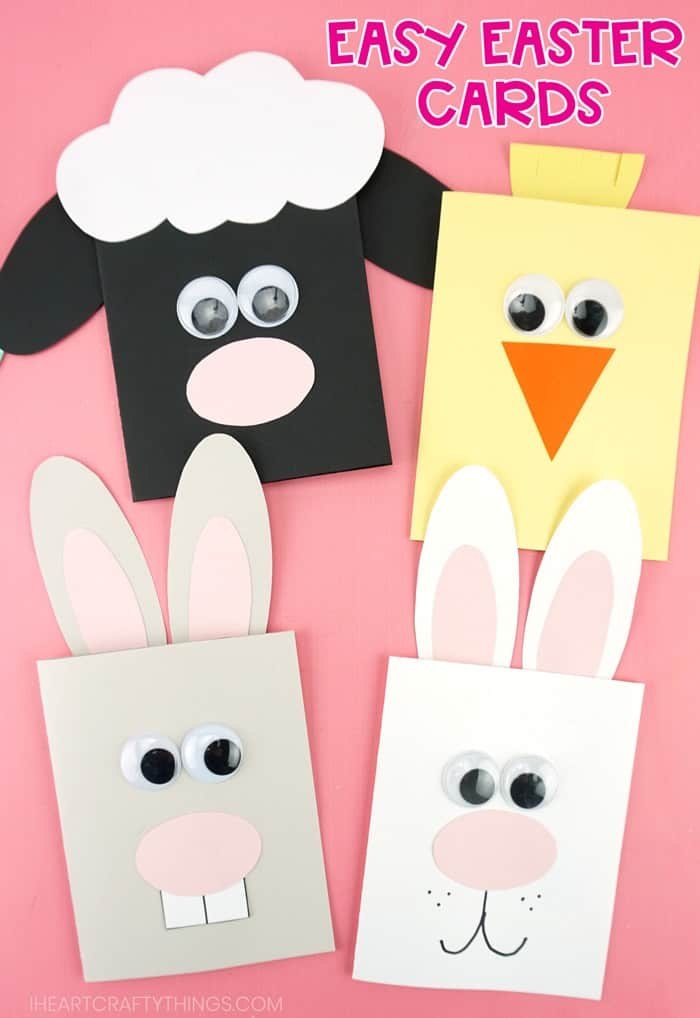 Easy Easter Card Templates For Preschool