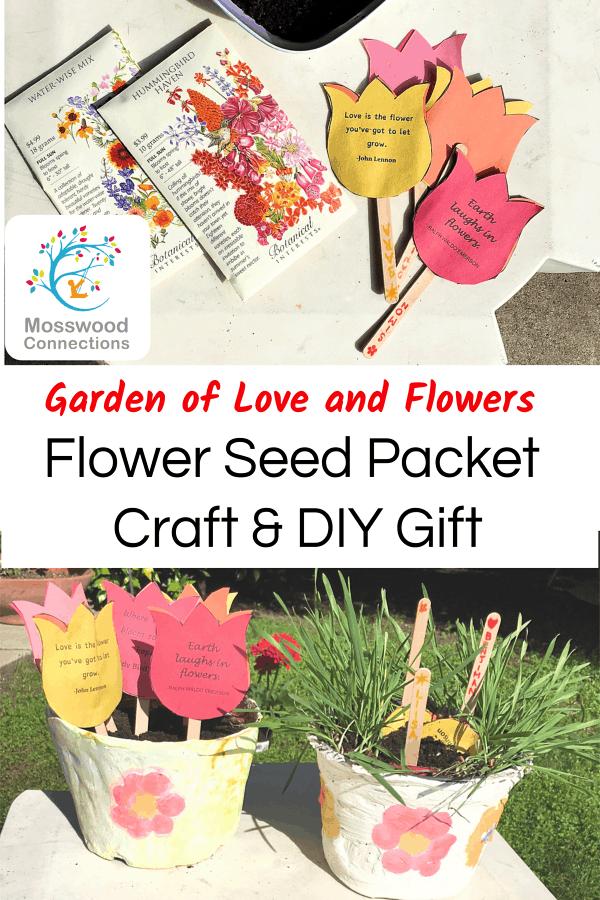 Preschool Seed Packet Craft