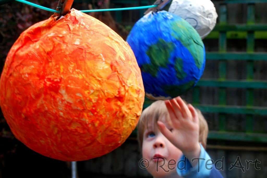 Balloon Solar System Craft