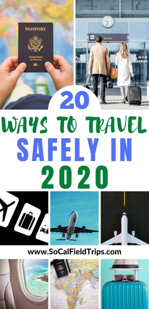 Learn how to fly safely on an airplane in 2020