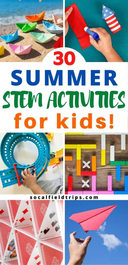 30 Summer Stem Activities For Kids