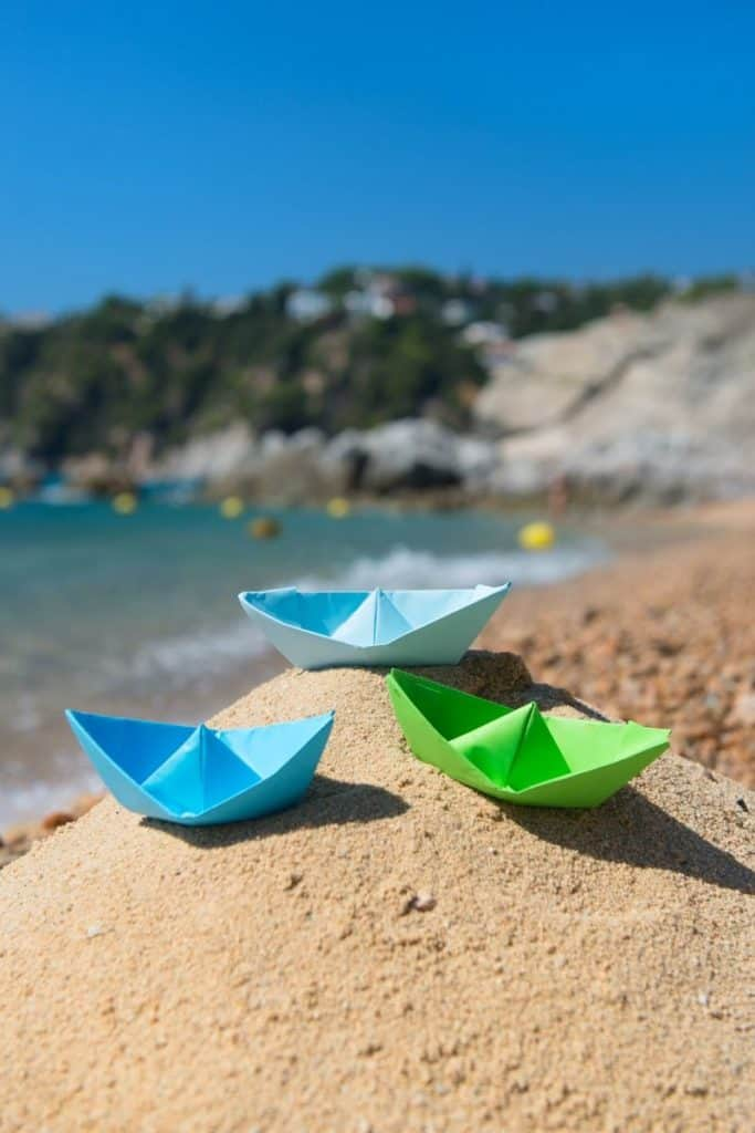 How to make a floating boat activity for kids