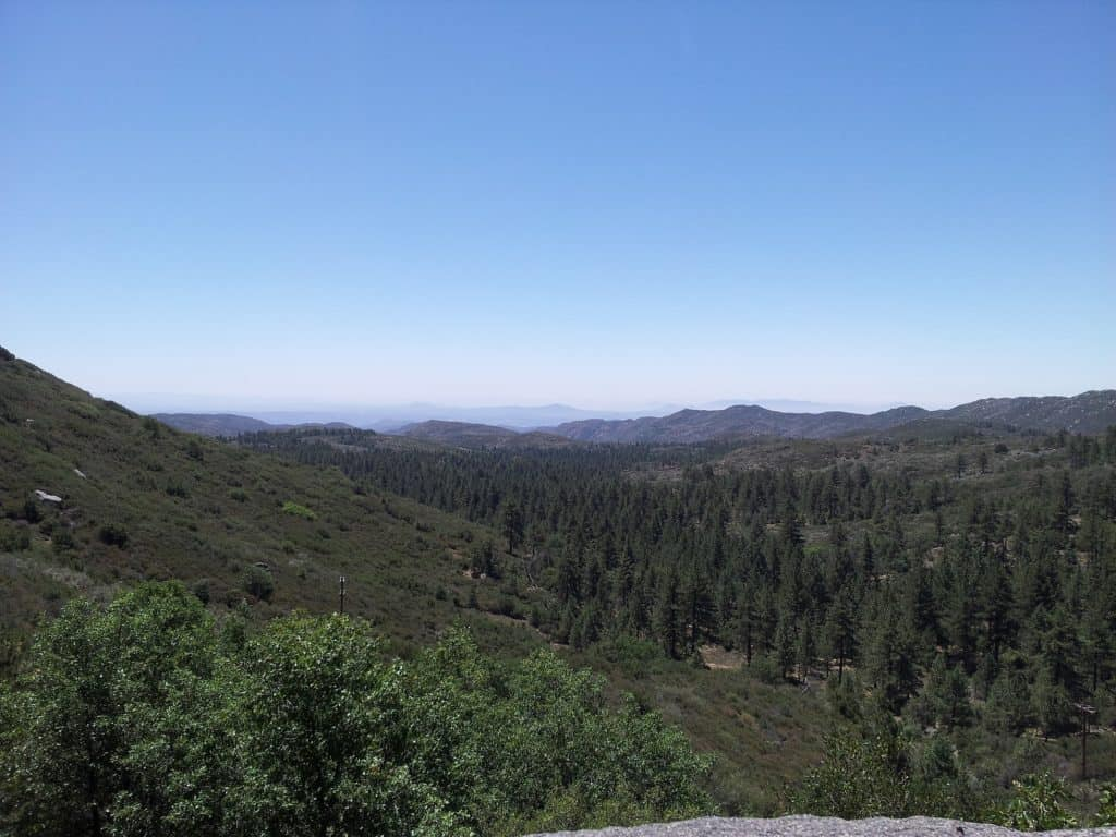 Things to do outdoors in San Diego like hike at Mount Laguna