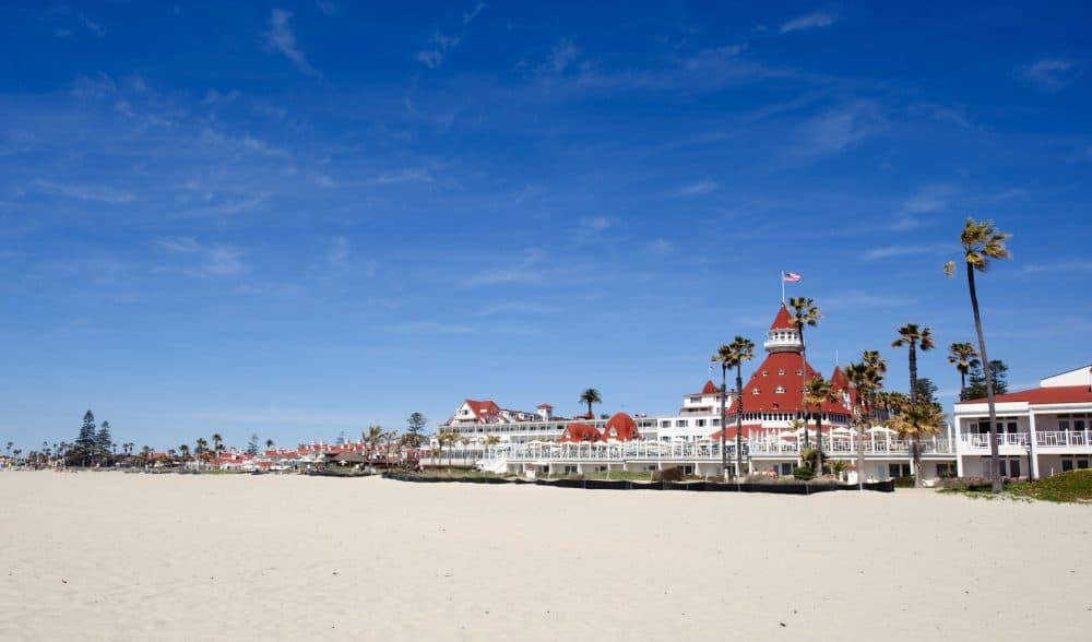 Coronado Beach in San Diego
