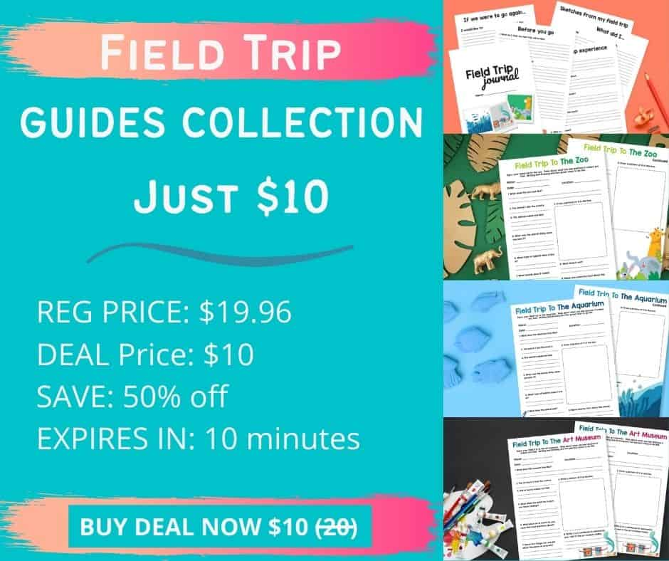 Free field trip guides for students