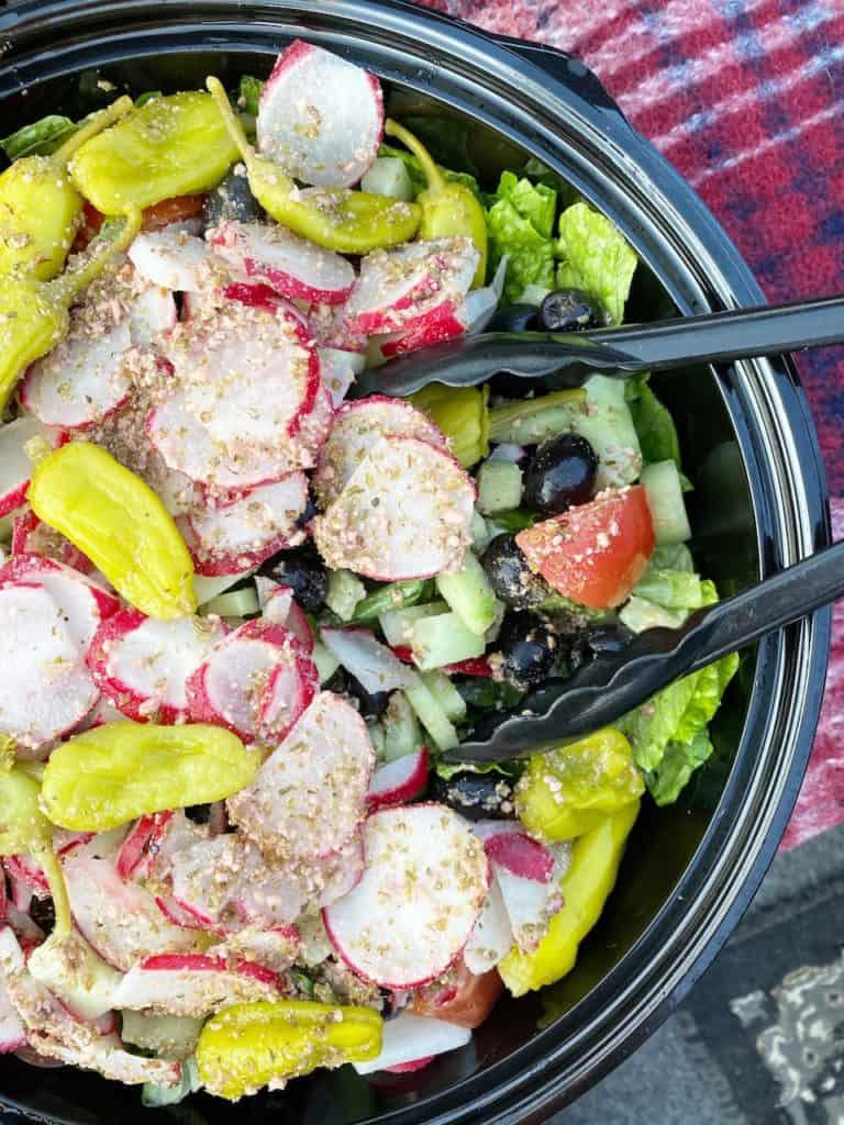 Food from Domenico's Italian Restaurant in Long Beach