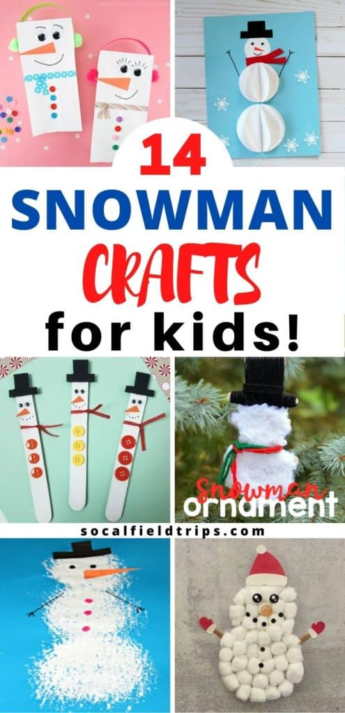 Check out these 14 Easy Snowman Crafts for PreschooI! I mean, who doesn't love an adorable little snowman!  There's something so cute about a little guy with a corncob pipe, a button nose and two eyes made of coal. There's all sorts of snowman crafts to suit everyone, as well as some fun ones from an easy pinecone snowman to a paper snowman ornament.
