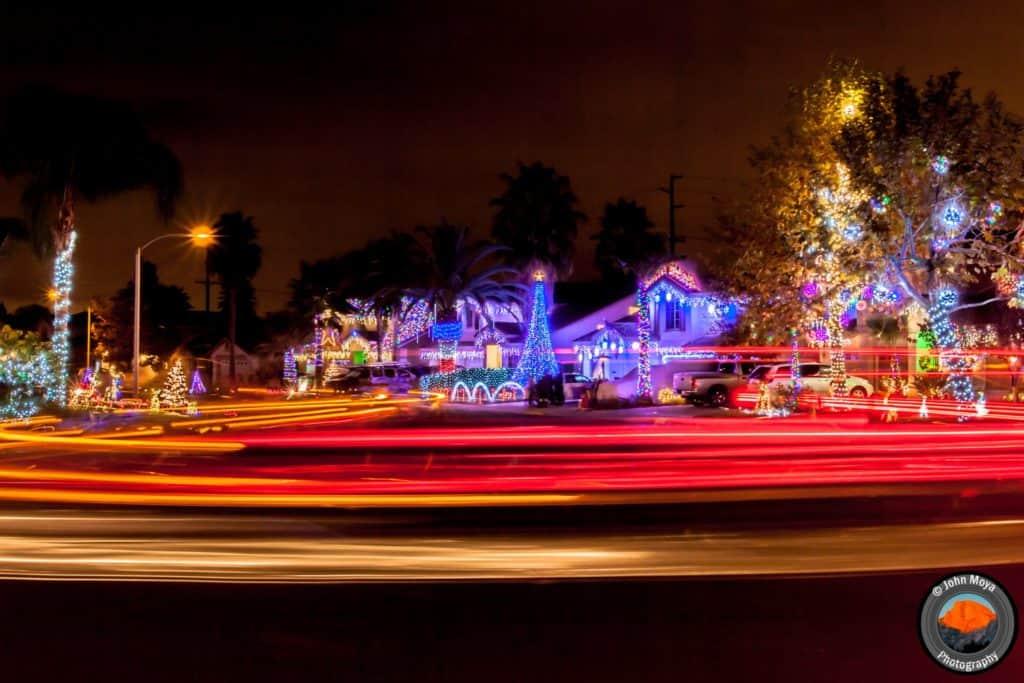 Bainbridge Circle Christmas Lights