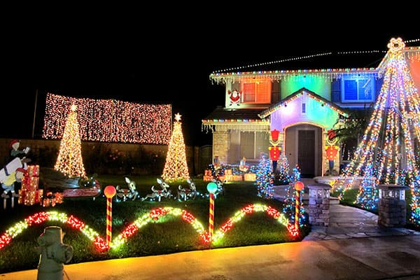 Christmas Lights in Chino Hills