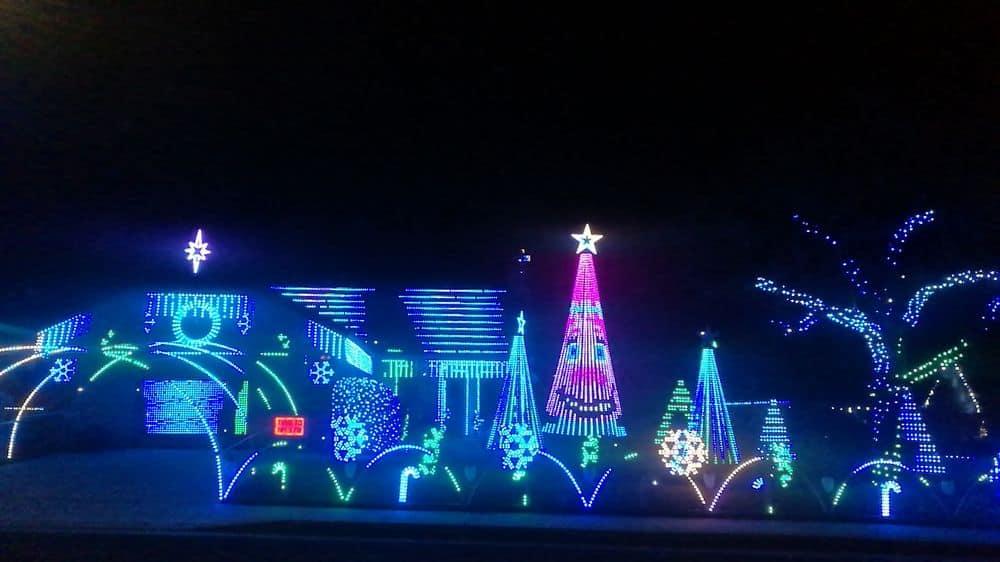 Daybreak Christmas Lights