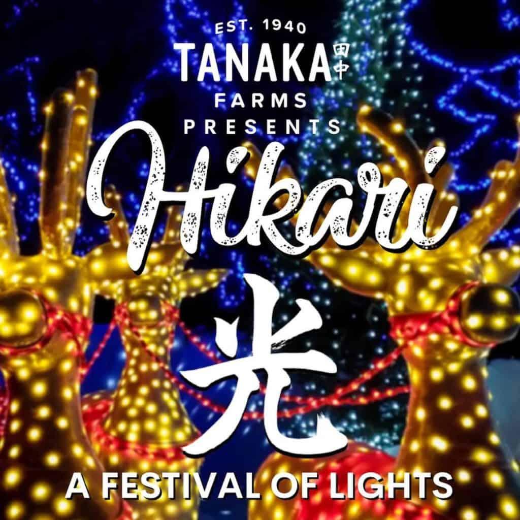 Hikari Tanaka Farms Drive Thru Holiday Lights Show