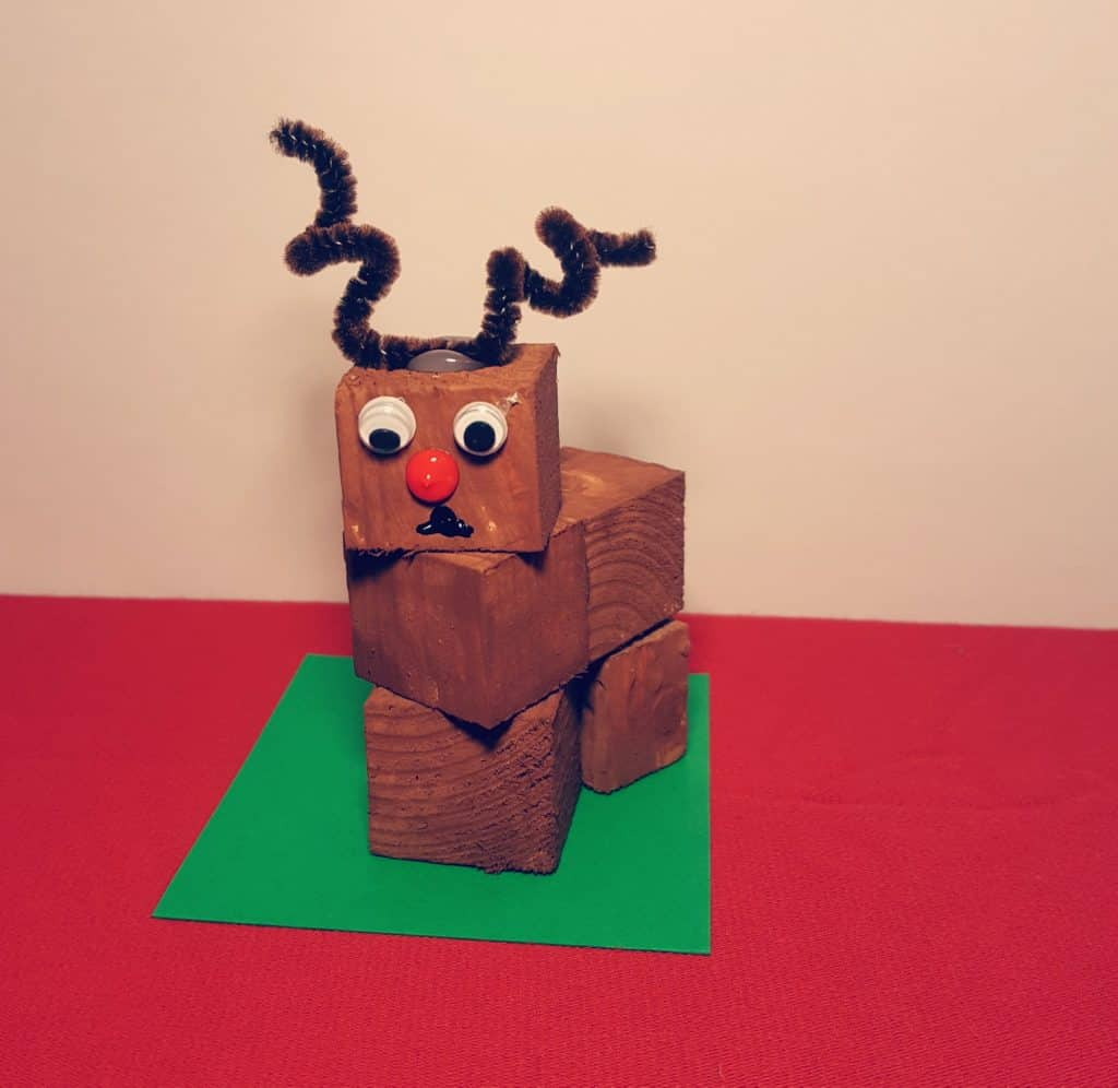 Reindeer Block Craft
