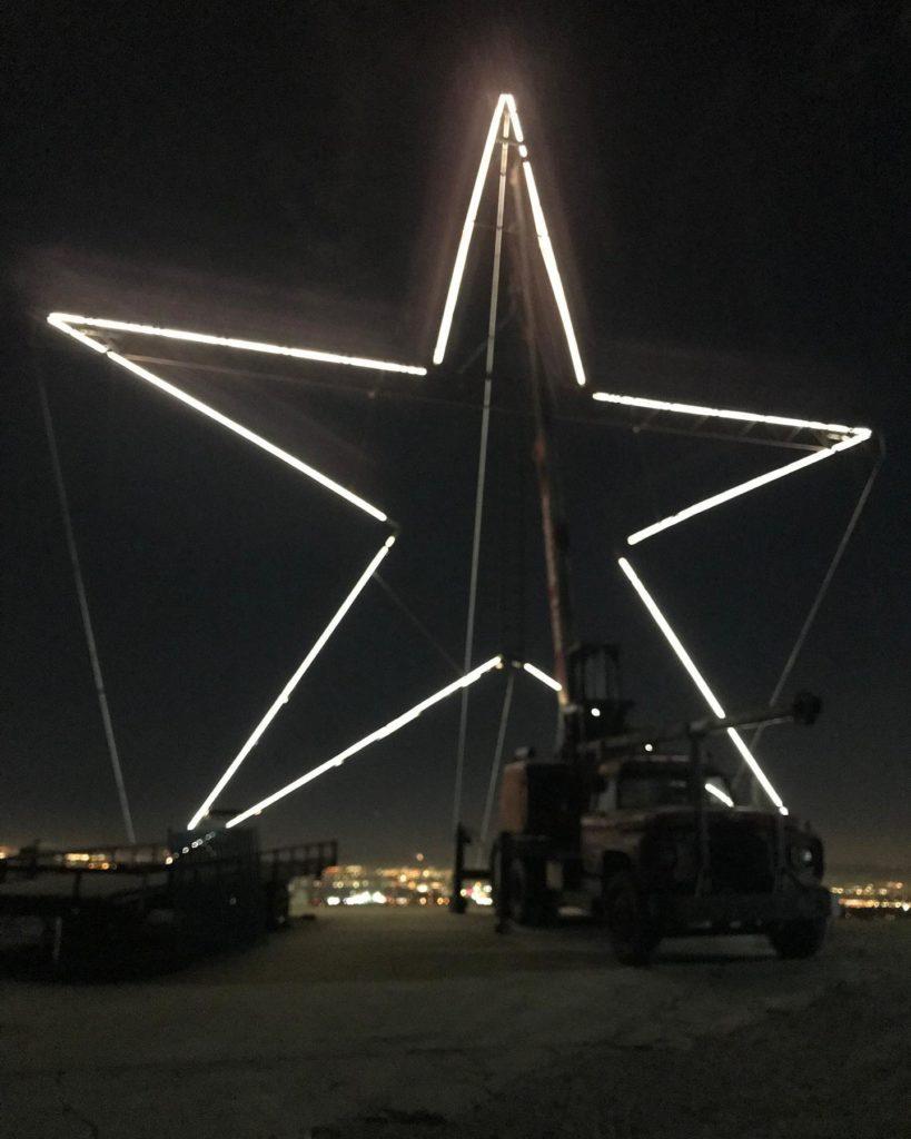 Upland Christmas Star